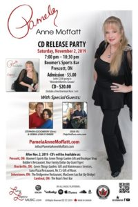 Pamela Anne Moffatt - CD Release Party
